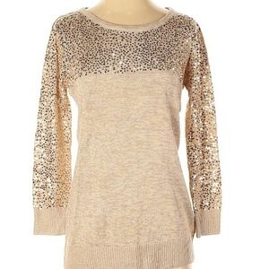 Cupio Women Sequin Pullover Sweater